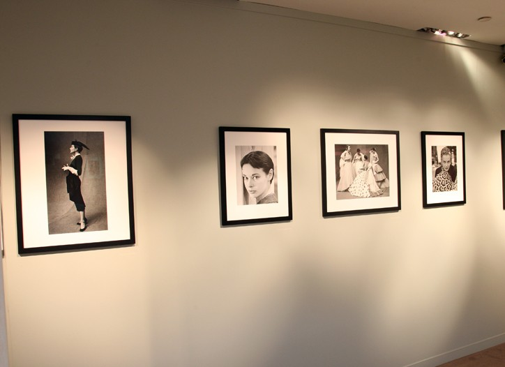The exhibit of Gordon Parks' works.