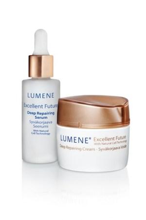 Lumene's Excellent Future items.