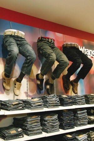 Brand jeans at Galeria Kaufhof in Aachen
