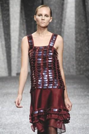 A look by Reinaldo Lourenço at São Paulo Fashion Week.