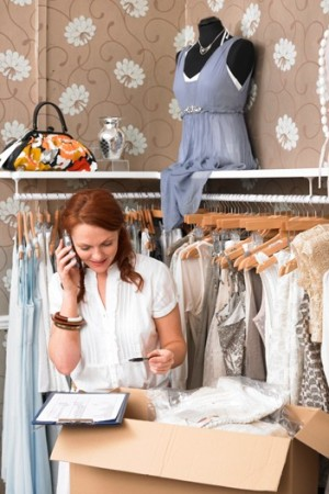 Sales associates are reaching out to shoppers with phone calls, e-mails and special attention.