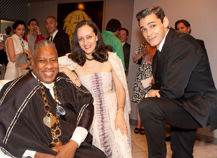 André Leon Talley and Isabel and Ruben Toledo.