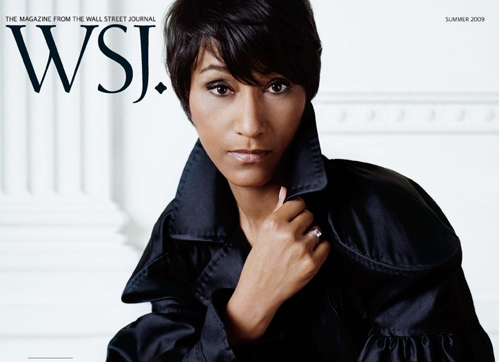 White House Social Secretary Desiree Rogers on the cover of WSJ. magazine.