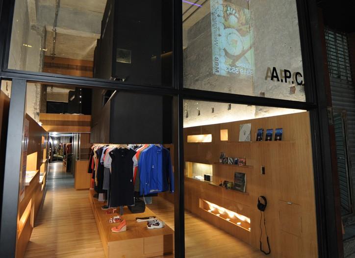APC's Wyndham Street store.