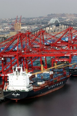 World trade volume is expected to fall 11 percent.