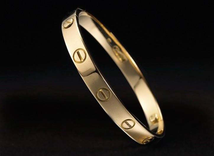 The Cartier Love Bracelet.