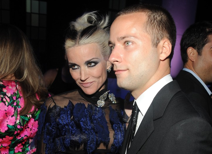 Daphne Guinness and Jack McCullough