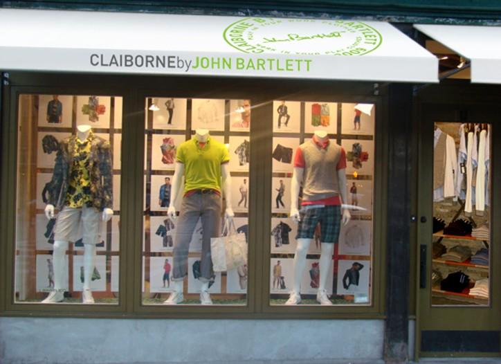 John Bartlett opened a Claiborne shop in his West Village boutique.