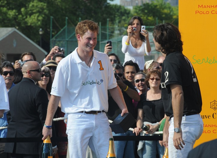 HRH Prince Harry of Wales and Nacho Figueras