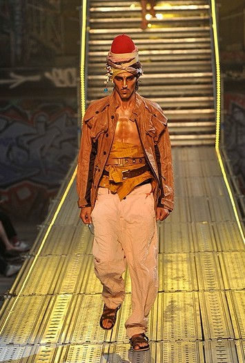 John Galliano Men's Spring 2010