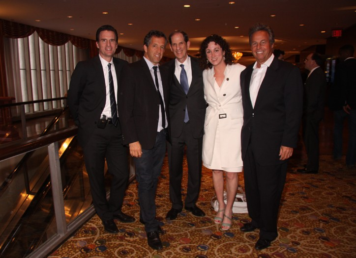 From left: Jeff Gennette, Kenneth Cole, Michael Gould, Jill Granoff and Mark Weber.