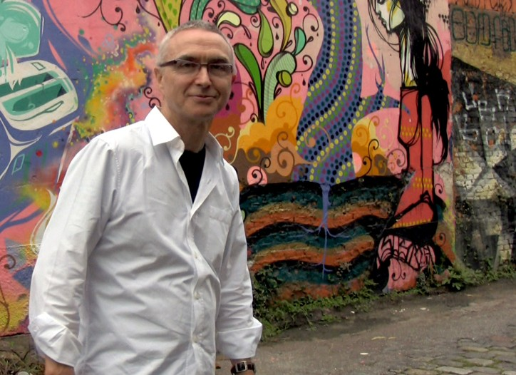 Marc Gobé in São Paulo.