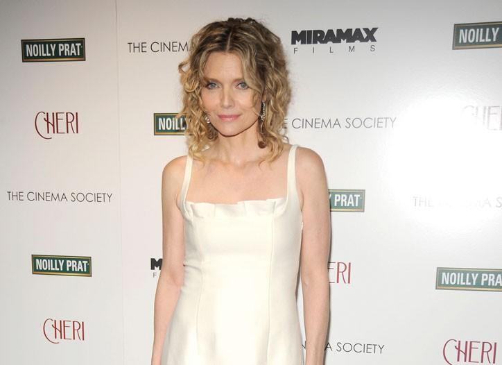 Michelle Pfeiffer in Valentino.
