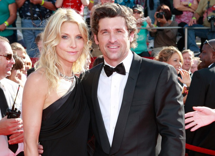 Patrick Dempsey with wife Jillian.
