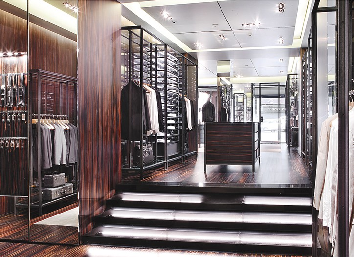 Prada's men's store in Madrid.
