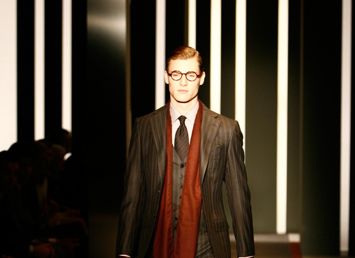 Ermenegildo Zegna Men's Fall 2009