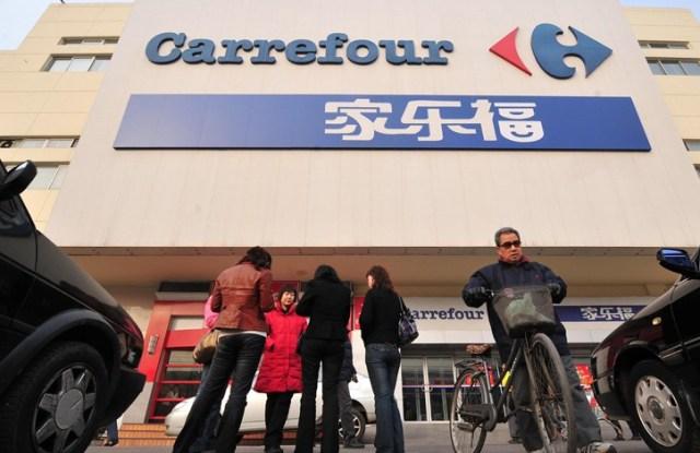 Carrefour in Beijing.