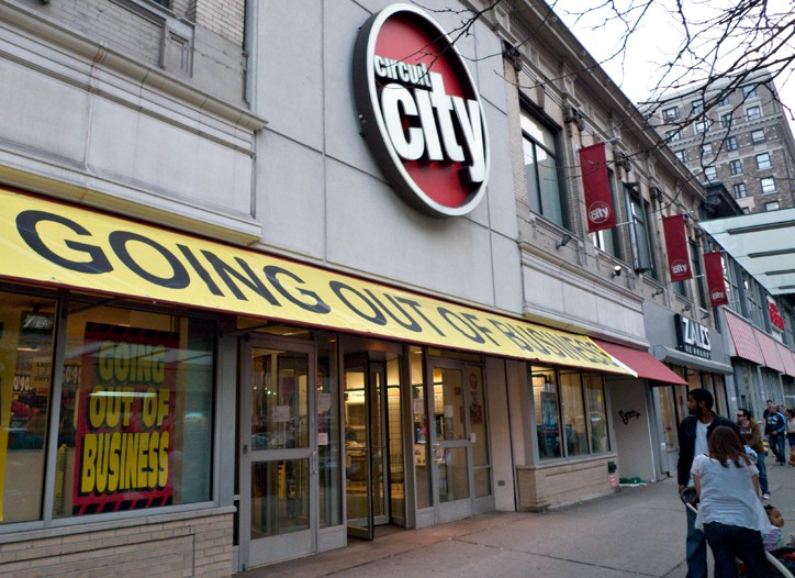 The liquidation of high-profile chain Circuit City has spooked some gift card purchasers