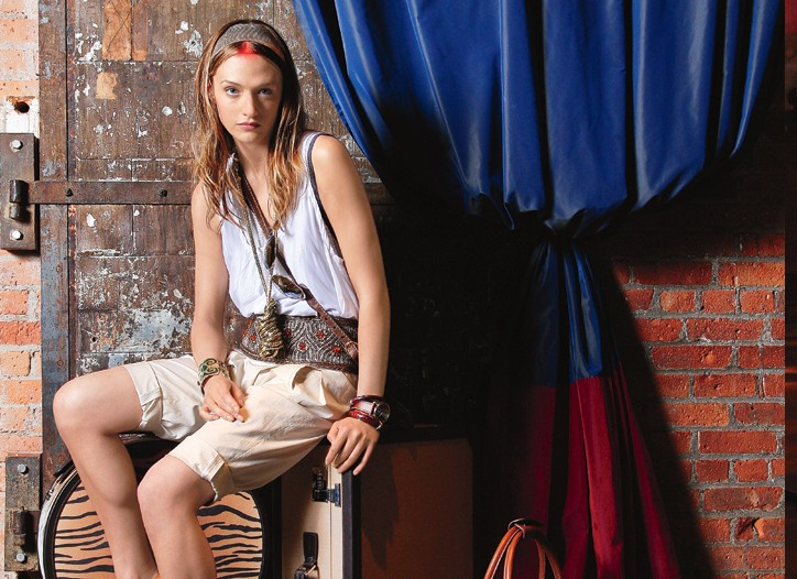 Northern Africa and Asia inspired accessories from resort 2010.