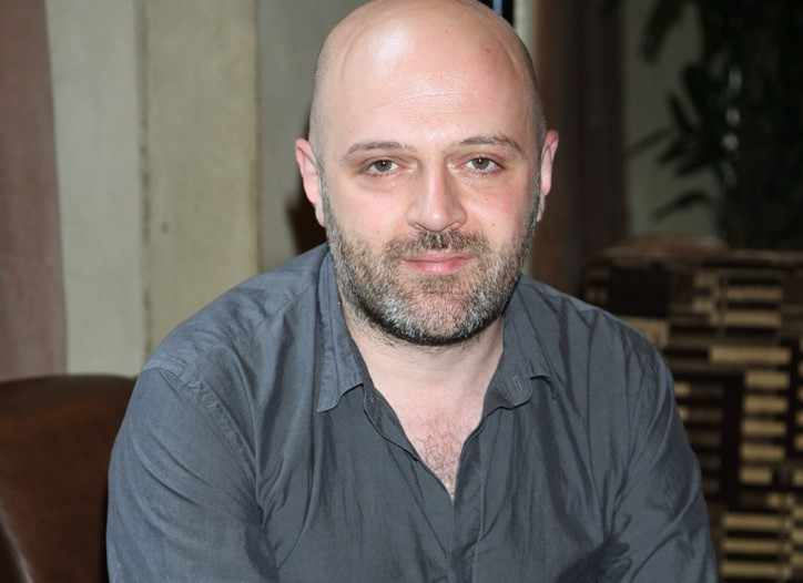 Hussein Chalayan at the Soho Grand.