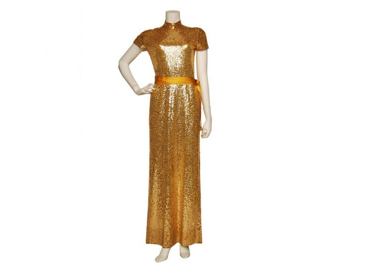 "A Norman Norrell ""Mermaid"" dress, circa 1972, for $5,500 at The Way We Wore."