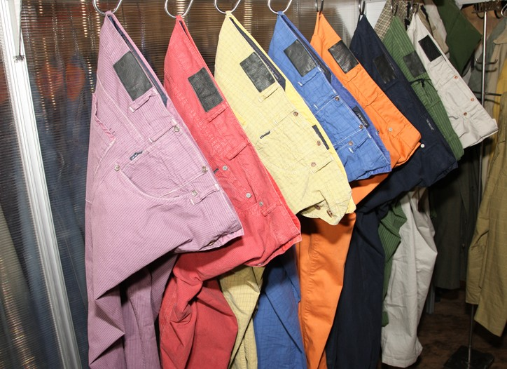At the Project Show, appealing denim alternatives were available from J.W. Brine.