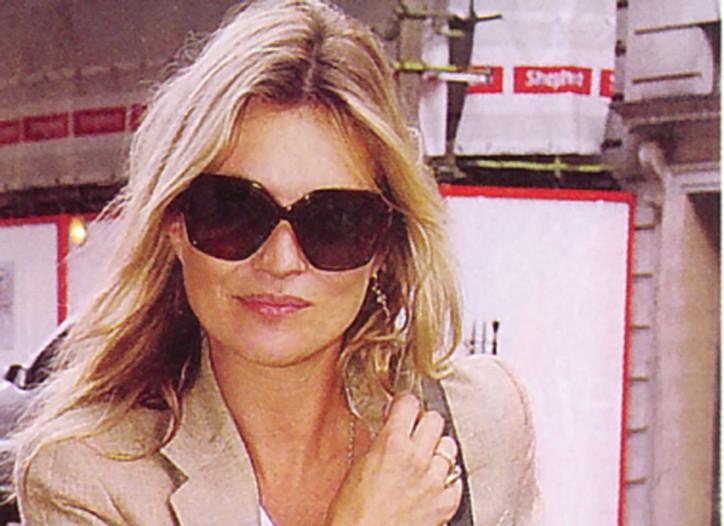 Kate Moss in Fabien Baron.