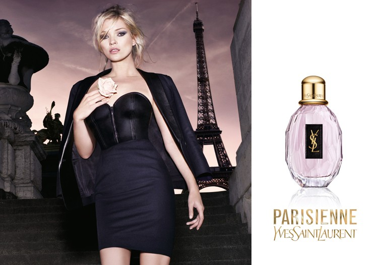 The print visual for Parisienne.