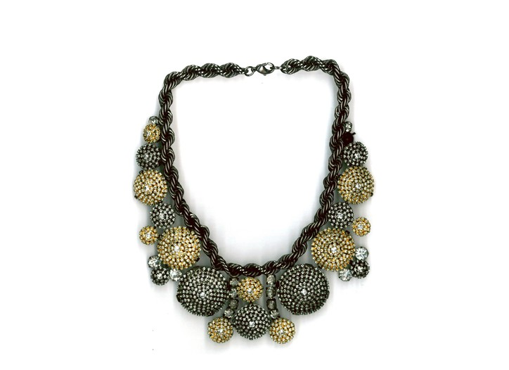 A necklace by Erickson Beamon.