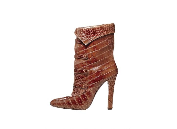 Born calfskin boot