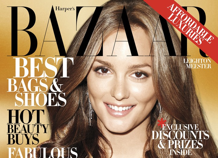 Cover of Bazaar's September 2009 issue.