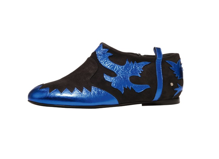 Laurence Dacade nappa appliqué and leather boot