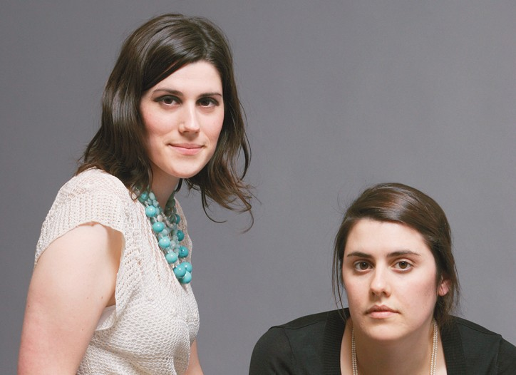 Laura and Kate Mulleavy of Rodarte.