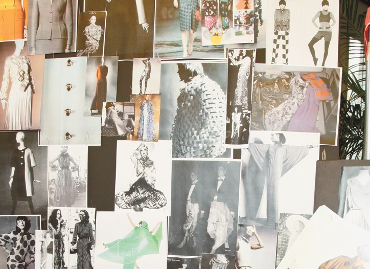 Designers continue to find inspiration despite the tough business conditions. Here, some of the spring 2010 mood boards.