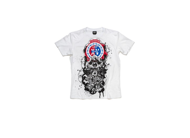 A shirt from 55DSL's 15th anniversary line.
