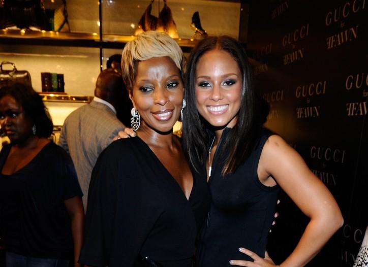 Mary J. Blige and Alicia Keys