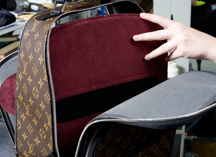 Annie Leibovitz's design for Louis Vuitton.