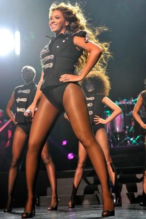 Beyoncé as Sasha Fierce.