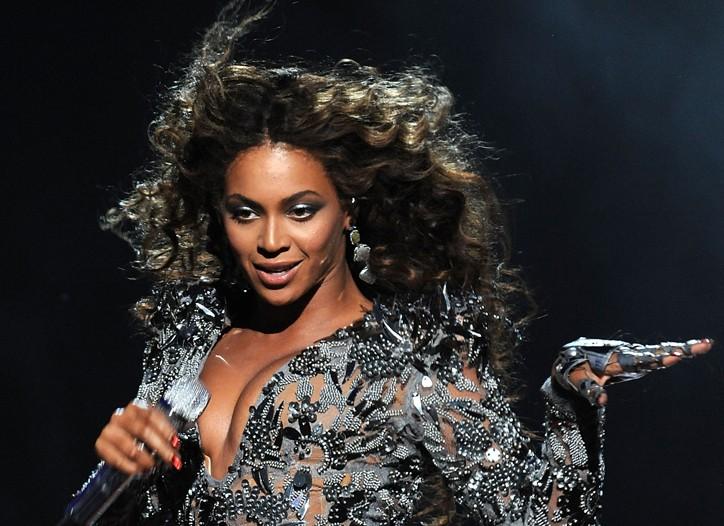 Beyoncé performing at the Video Music Awards Sunday night.