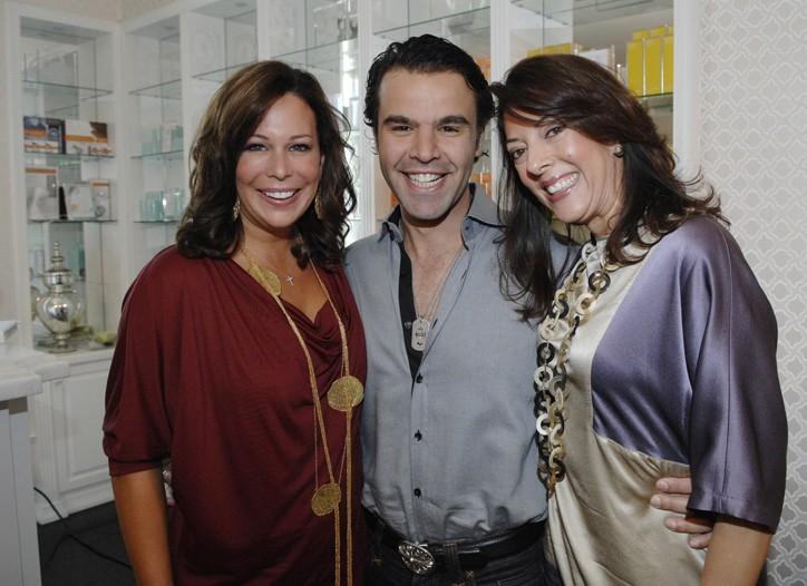 Kate Somerville, Alexandre Chouery and Leslie Blodgett.