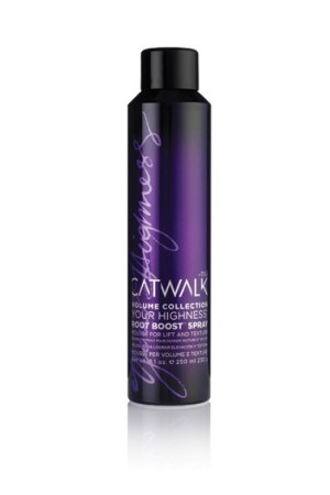 Catwalk's Your Highness Root Boost Spray.