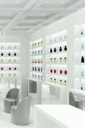 A rendering of Creed's Madison Avenue store.