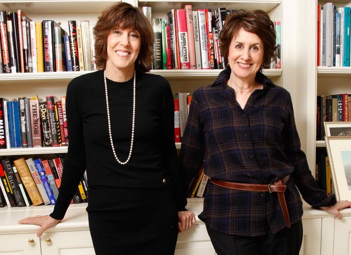 Nora (left) and Delia Ephron.
