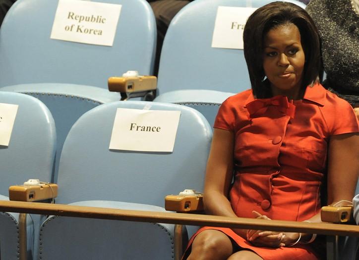 Michelle Obama at the U.N.