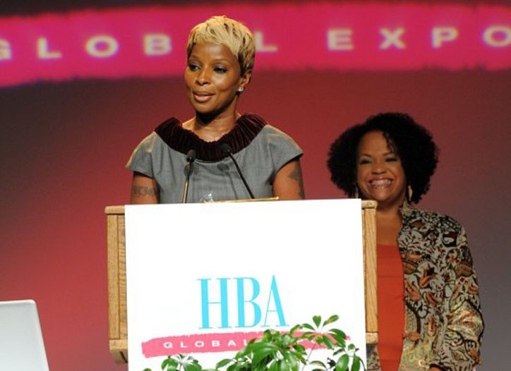 Mary J Blige and Lisa Price