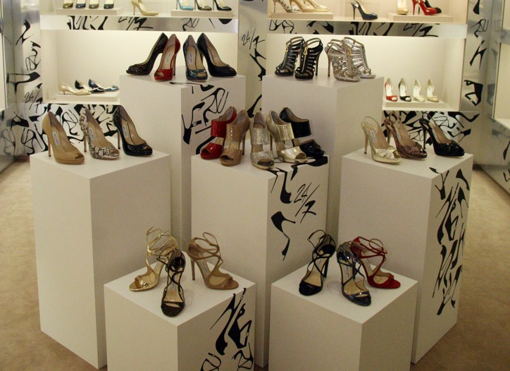 Shoes from the Choo 24/7 collection.