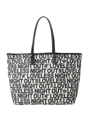 A tote for the evening from Loveless.