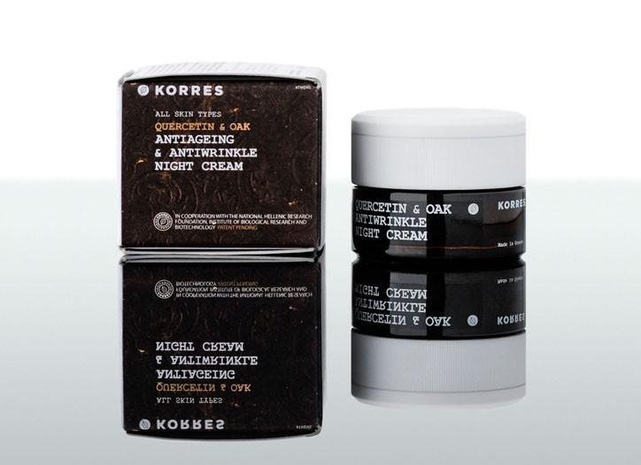Korres' night cream.