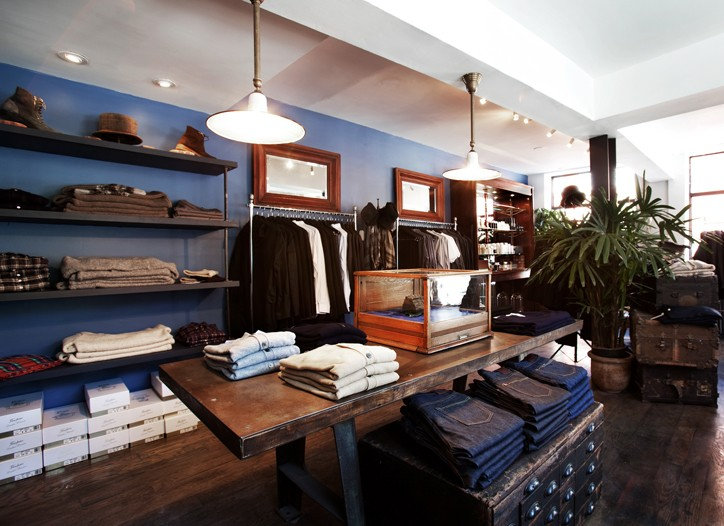 The new Odin store captures the historical character of the neighborhood.