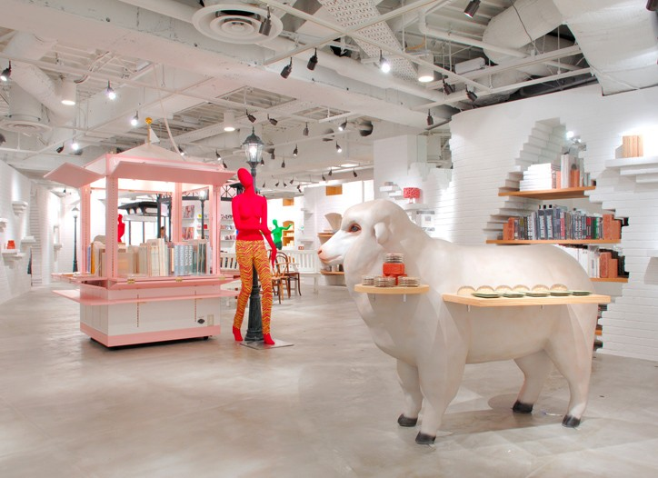 Opening Ceremony's new flagship store in Tokyo.